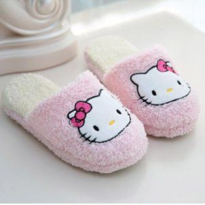 Women's Hello Kitty Slippers Pink